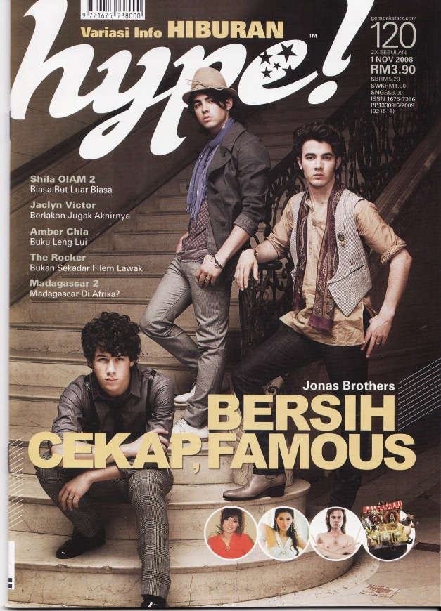 featuring three boys.