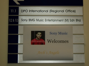 Sony Music welcomes Arch's Angels