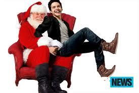 sittin on santa's lap
