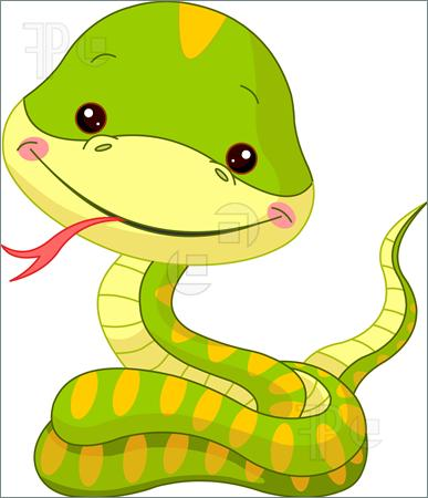 snake year 2 cute