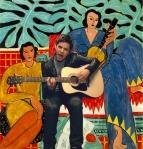 La Musique by Henri Matisse
