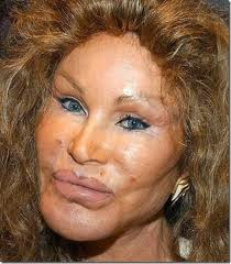 cosmetic surgery woman