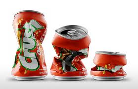 crush tin cans
