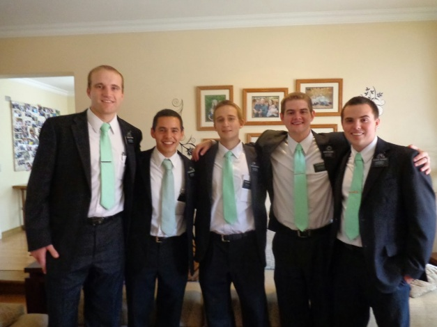green tie group
