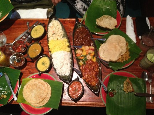 banana leaf spread