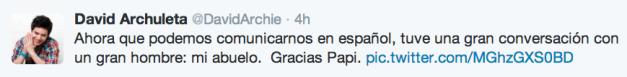 spanish tweet