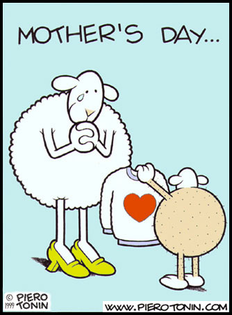 sheep mothers day