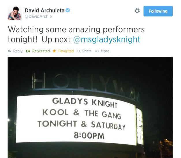gladys knight tweet