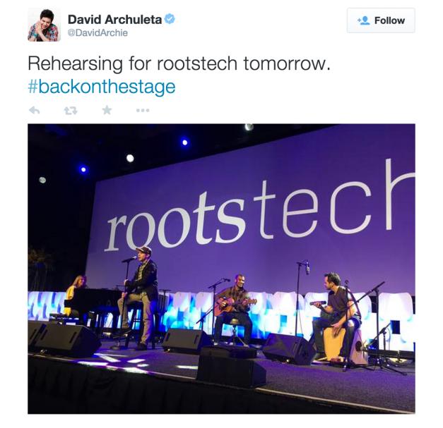 rootstech tweet