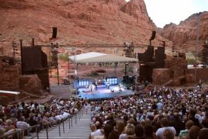 amphitheatre at tuacahn Utah