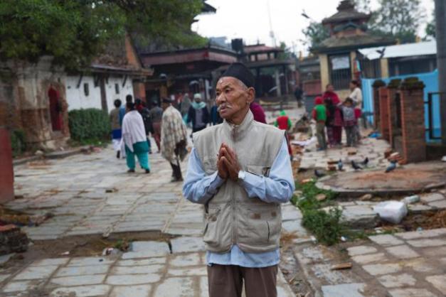 nepal prayer