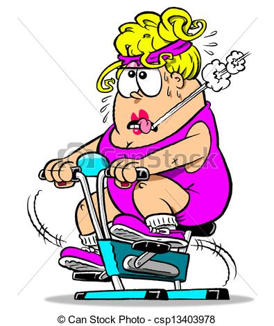 cycling in gym