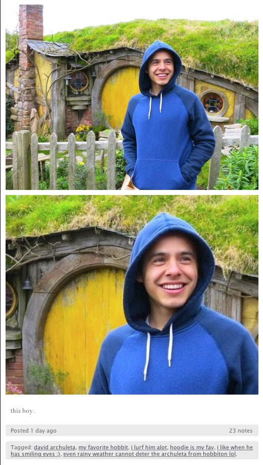 blue hobbit