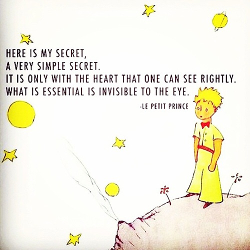 Le Petit Prince - one of my favourite books